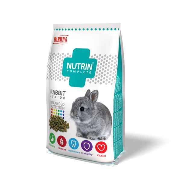 Nutrin- Complete Králík Junior/Rabbit Junior 400g