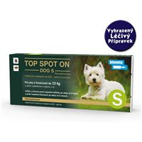 Top spot on sol Dog 1x1ml 2 - 15kg S
