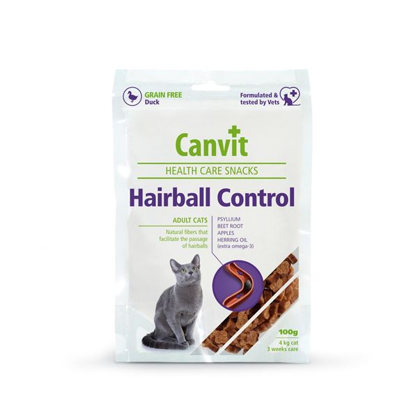Canvit Cat Health Snack Hairball Control 100g