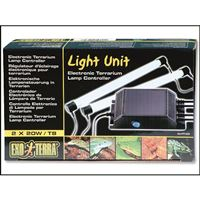 ExoTerra Light Unit Gloma 2x20W T8